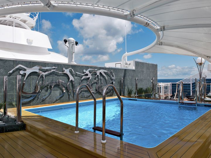 Tmx 1376696237115 Msc Divina Yacht Club Pool Croton On Hudson wedding travel