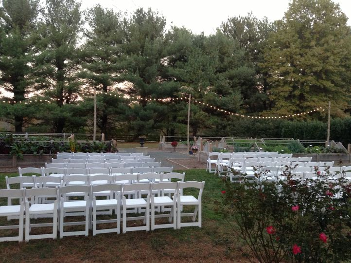 MT Garden Wedding Ceremony