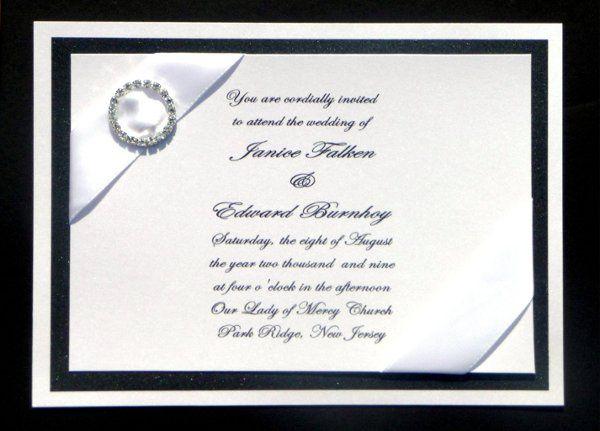Tmx 1251164178671 P1000858 Montvale wedding invitation