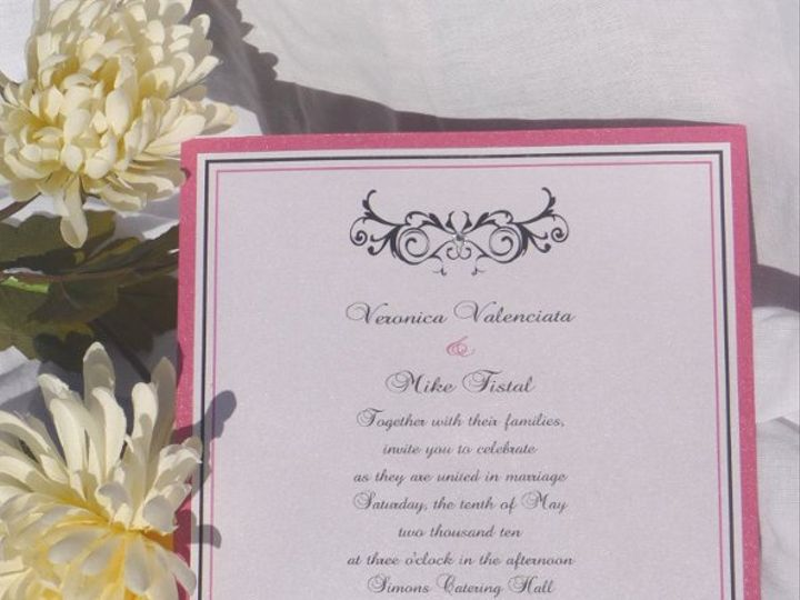 Tmx 1323004956338 P1020846 Montvale wedding invitation