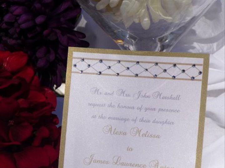 Tmx 1323004999129 P1020858 Montvale wedding invitation