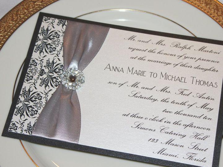 Tmx 1359423503088 060 Montvale wedding invitation