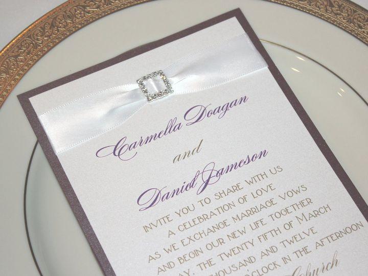 Tmx 1359423525719 066 Montvale wedding invitation