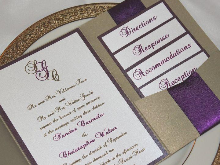 Tmx 1359423588067 072 Montvale wedding invitation