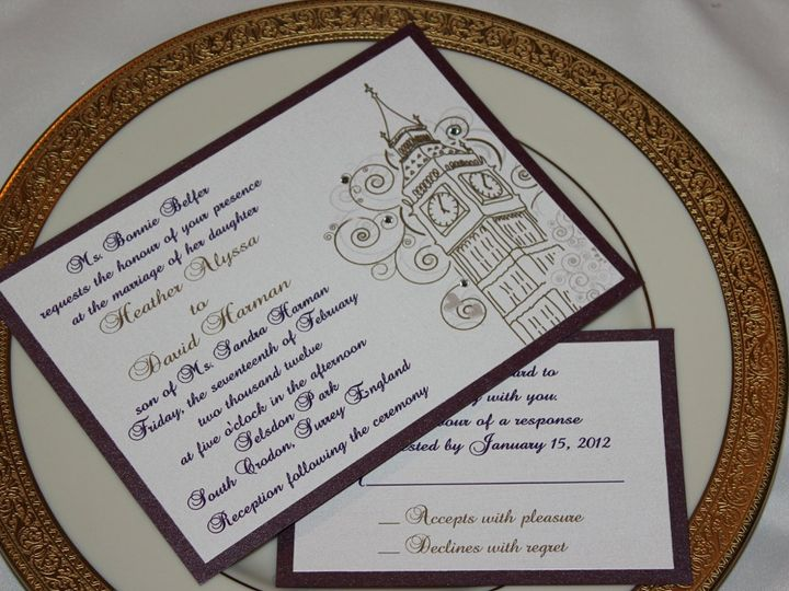 Tmx 1359423805923 111 Montvale wedding invitation