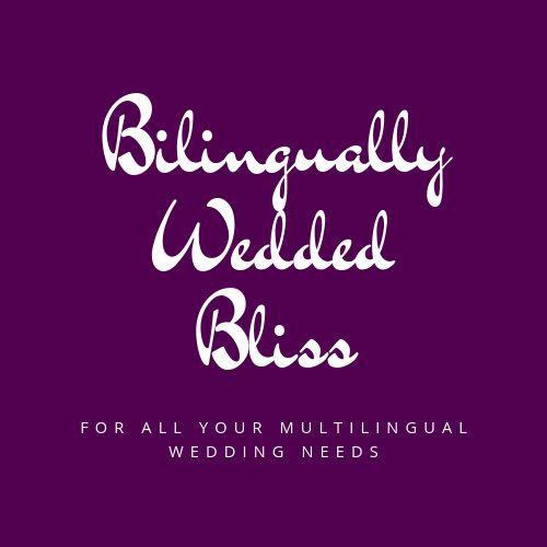 Bilingually Wedded Bliss Logo