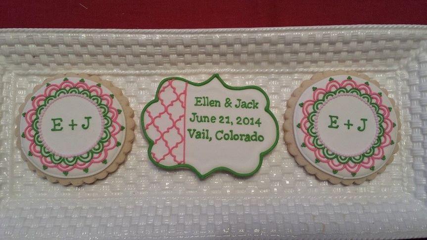quatrefoil cookies