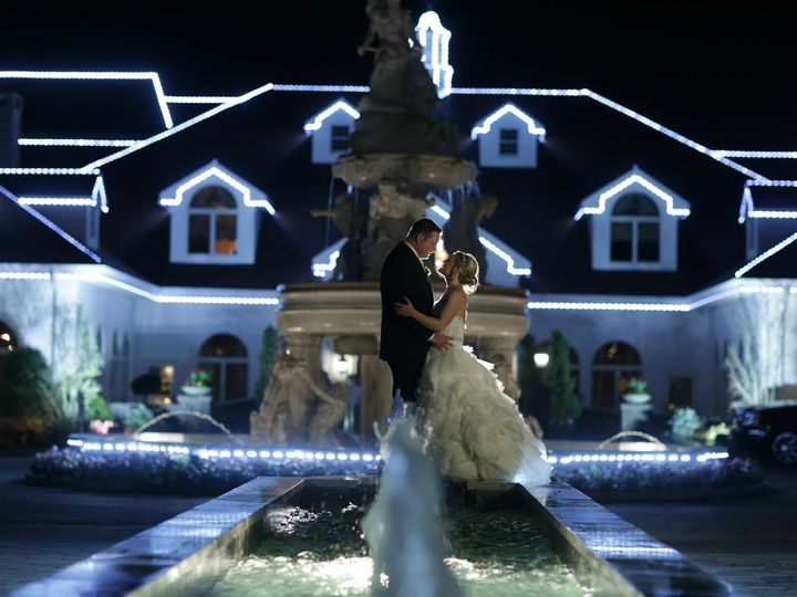 Tmx 1484407312987 Bg Standing On Driveway Fountain Night New Rochelle, New York wedding venue