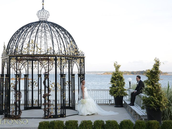 Tmx 1484407383962 Bg Gazebo High Tide Groom Sitting New Rochelle, New York wedding venue