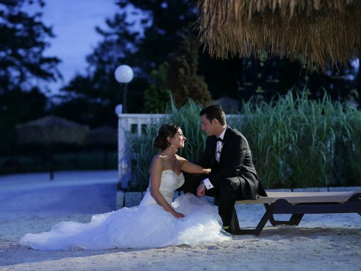 Tmx 1484407555087 Bride Sitting On Beach With Groom New Rochelle, New York wedding venue