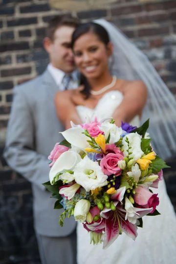 bridal bouquet eugene custom