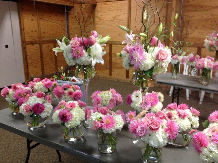 oregon wedding flower arrangements