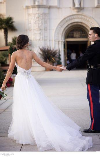 Wedding-day updo