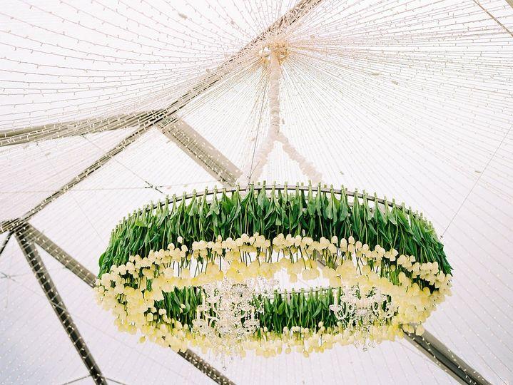 Tulip chandleier