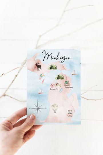 Michigan Save the Date