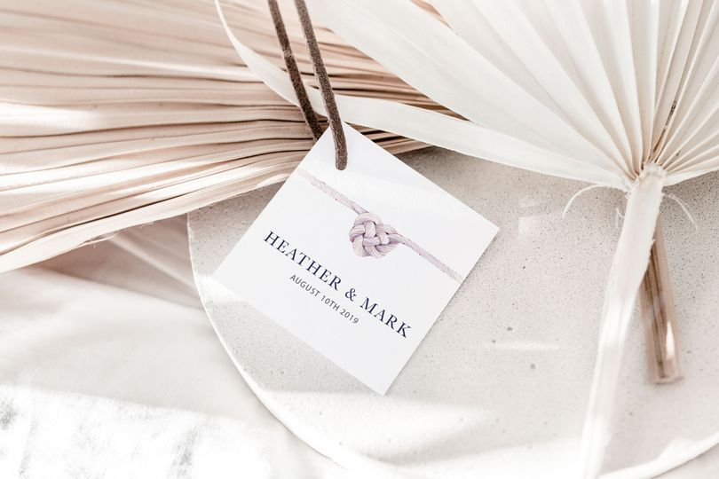 Tie the Knot Tag