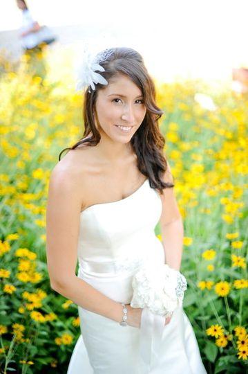 Bride/black eyed susans!