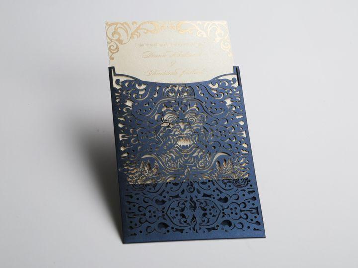 Tmx 1424010243979 Laser Cut 1 Sterling wedding invitation