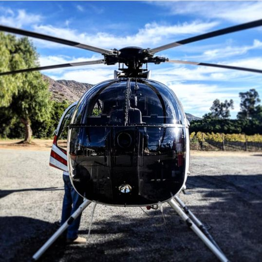 Helicopter rides for couples