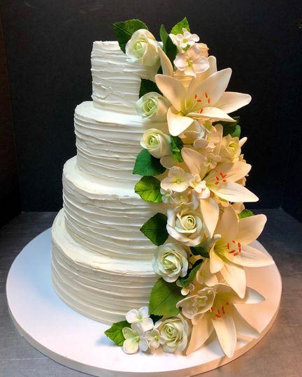 Magnolia Cakes Confections Llc Wedding Cake Stuart Fl