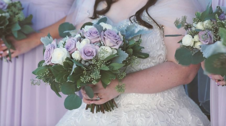 The bouquet - Brittany and Dani Productions