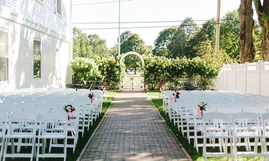 outdoor ceremony space the commons 1854