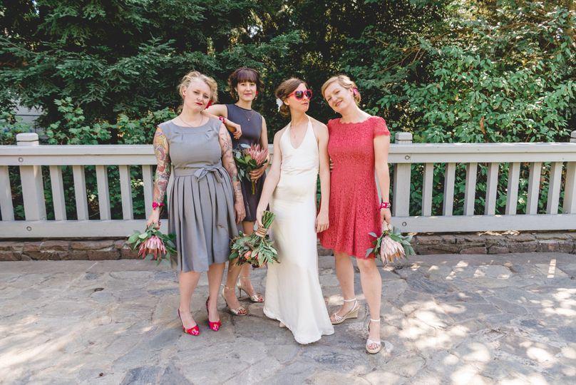 bride tribe photo