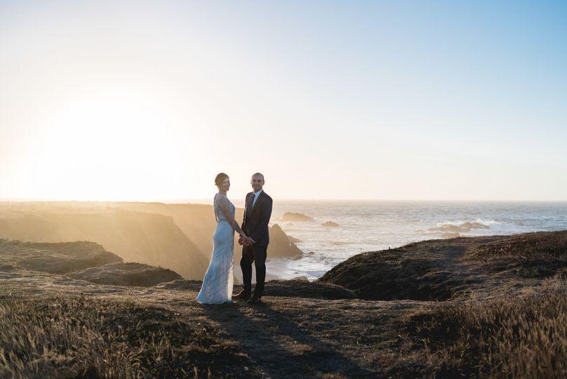 An elopement in big sur