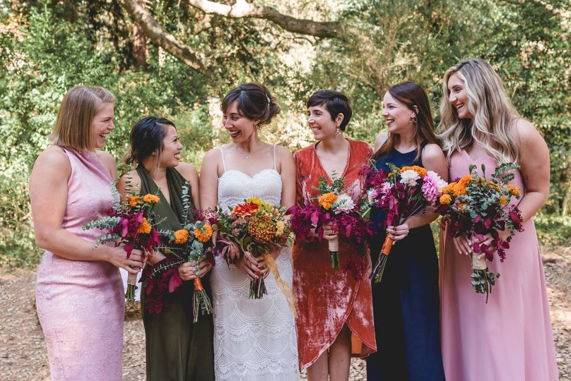 Squad goals, bridesmaids