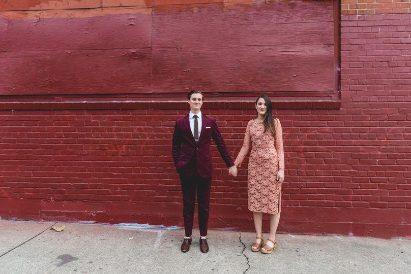 Oakland wedding couple