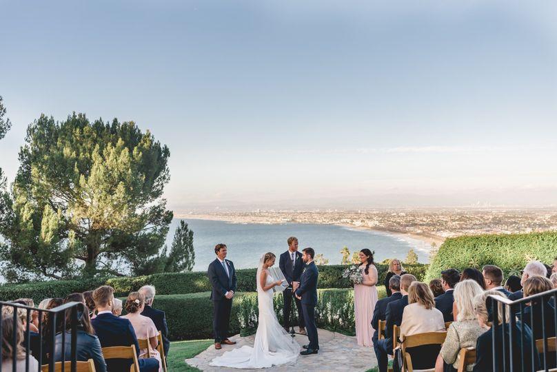 Ceremony at La Venta Inn