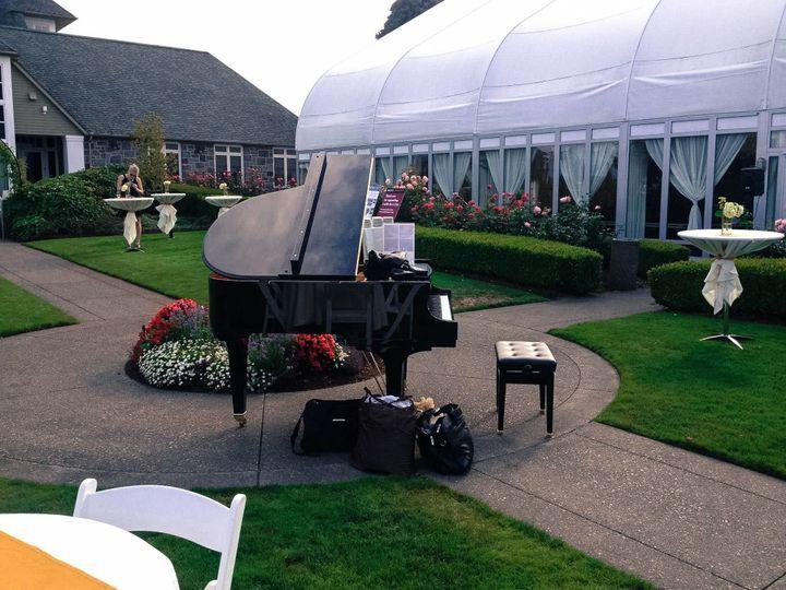 Oregon Golf Club wedding performance