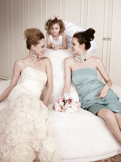 Lord taylor dress attire new york ny weddingwire for Lord and taylor wedding dresses