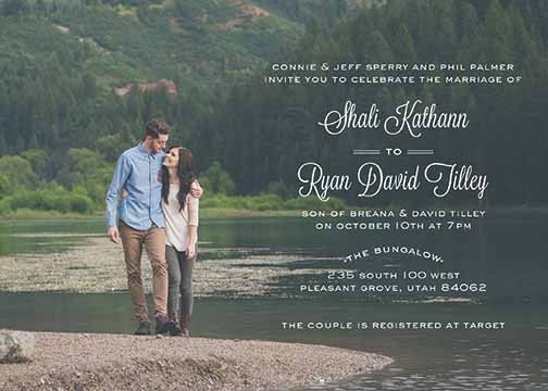 Wedding invitations provo utah