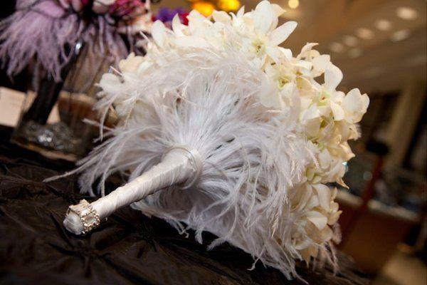Fancy white bouquet