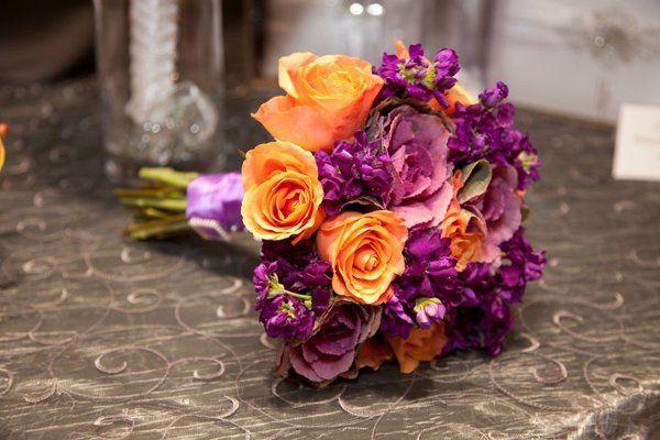 Purples and oranges