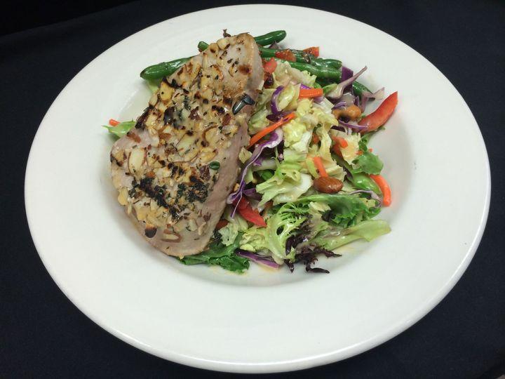 almond tuna salad