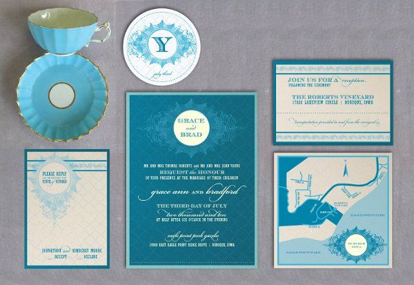 Tmx 1274374195479 Bluesetwasgreenset Dubuque wedding invitation