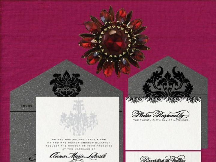Tmx 1274374223667 Chandelierforportfolio Dubuque wedding invitation