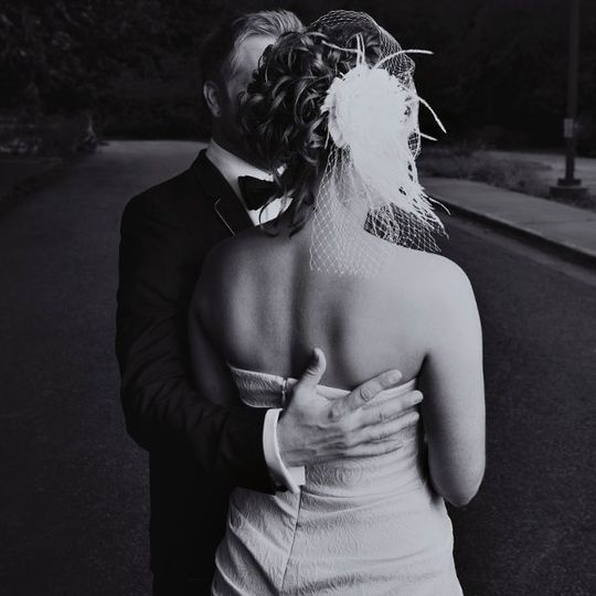 Classic wedding image