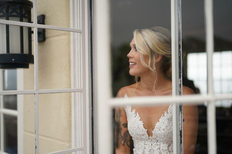 Bride at Maritime Museum