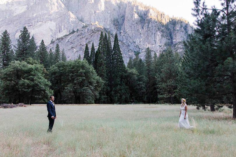 Couple at Yosemite