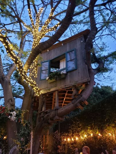 Bridal treehouse