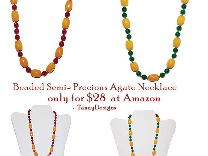 Tmx 1434071987398 Redywllo Greeyellow Agate  1  wedding jewelry