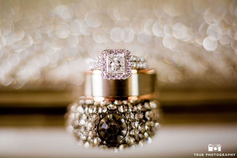 Wedding rings | Photo Courtesy by Berlynn with True Photography