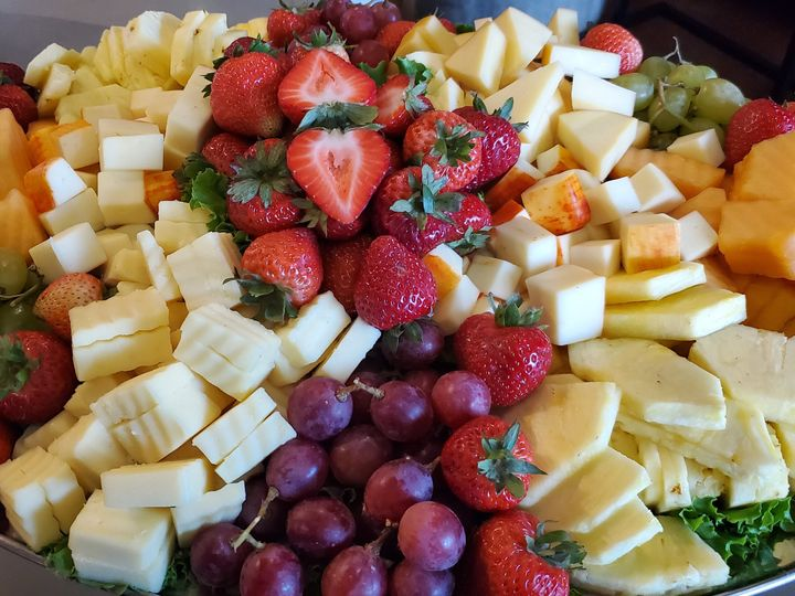 Fruit and cheese starter