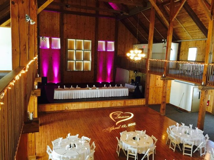 Tmx 1447425222316 Mono Gram Light And Uplights 2015 Bangor, Maine wedding dj