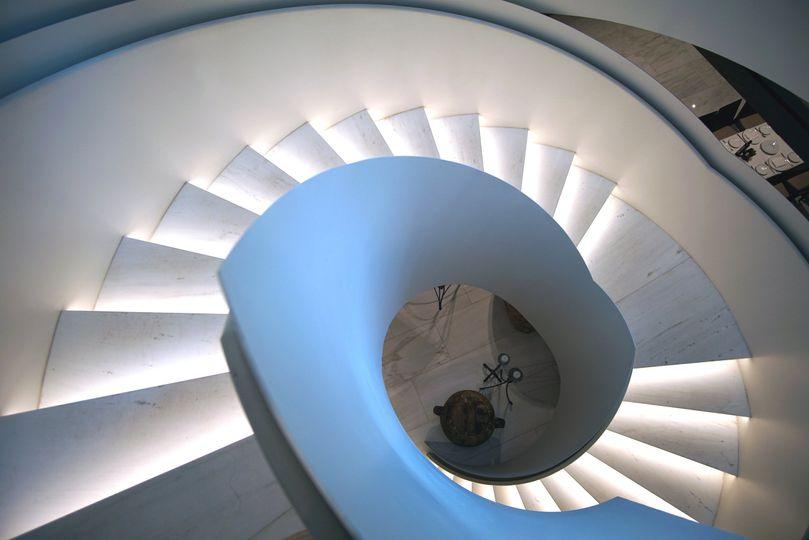 Milos grand staircase