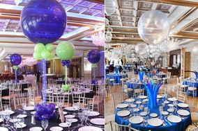 A Family Of'Air Balloon Decoration Service