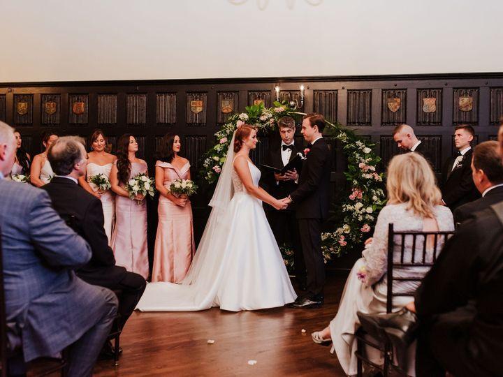 Tmx Alden Castle Modern Club Ceremony Circle Arch With Bride And Groom Horizontal Kim Pawlowski 51 3759 158464321623379 Brookline, MA wedding venue